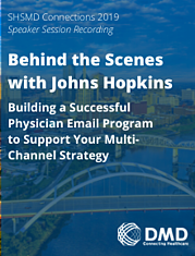 Website Digital Library - Cover for Behind the Scenes with Johns Hopkins