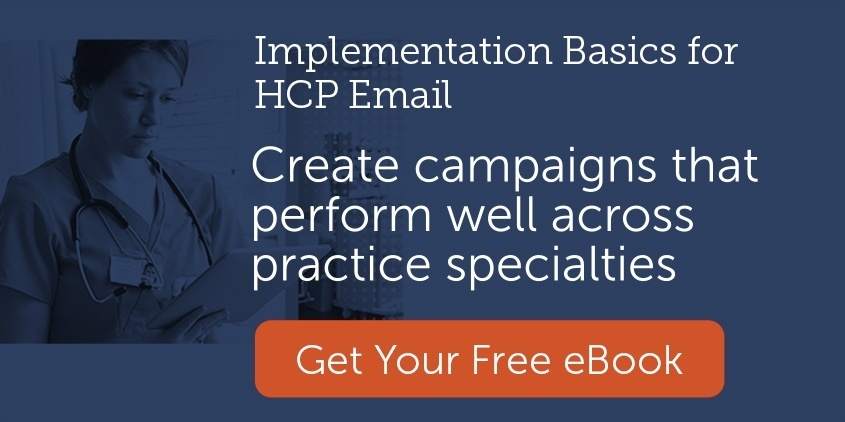 create campaigns that perform well across practice specialties