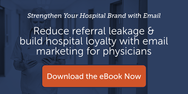 reduce referral leakage & build hospital loyalty