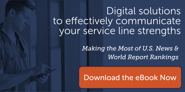 communicate your service line strengths