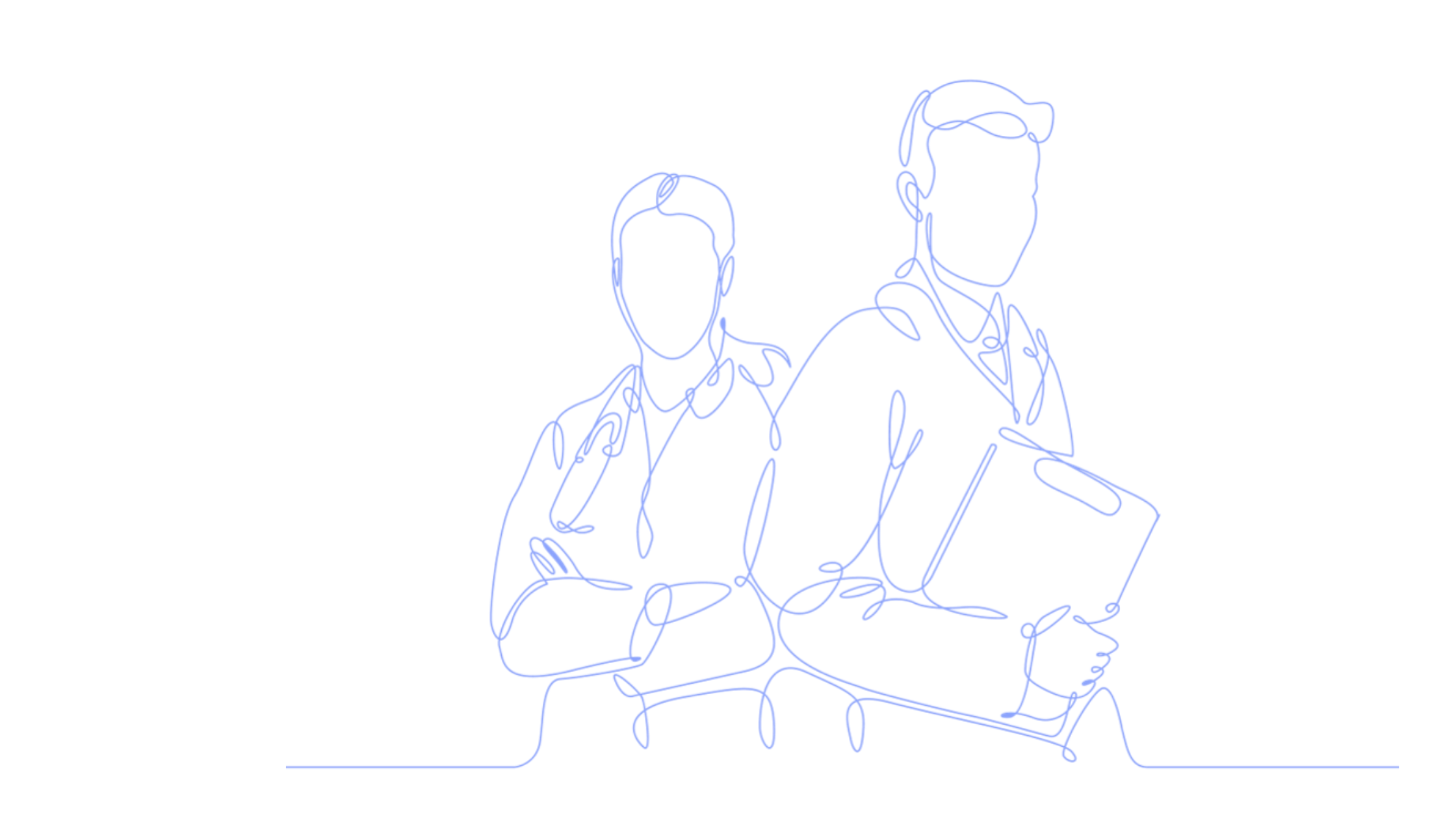 Line Art - Two HCPs